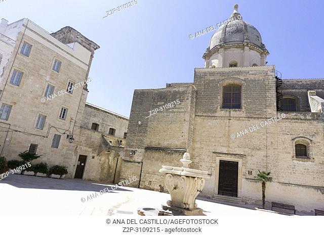 Monopoli in Puglia, Italy.,Church of SS. Pietro and Paolo