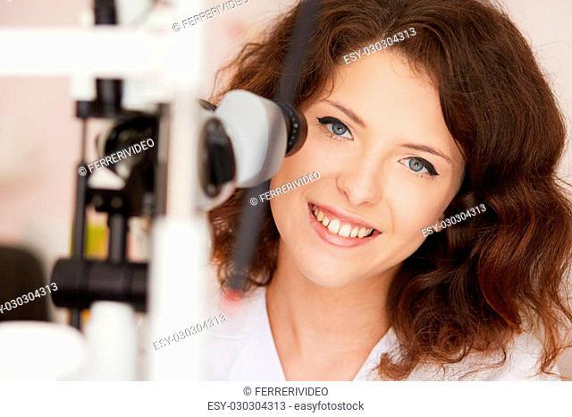 young optometrist
