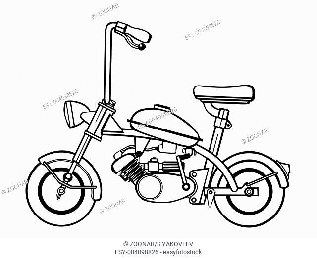 Moped Fuel Tank