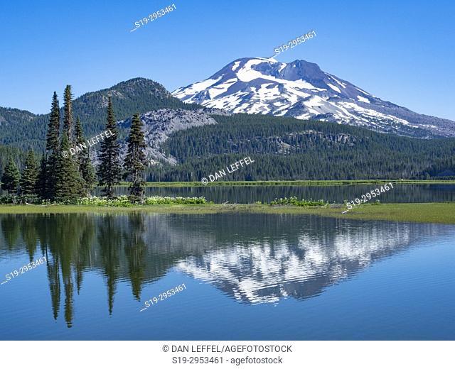 Sparks Lake Bend Oregon. USA
