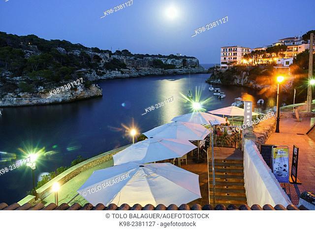 restaurantes, Cala Figuera, puerto tradicional de pescadores,Santanyí, islas baleares, Spain