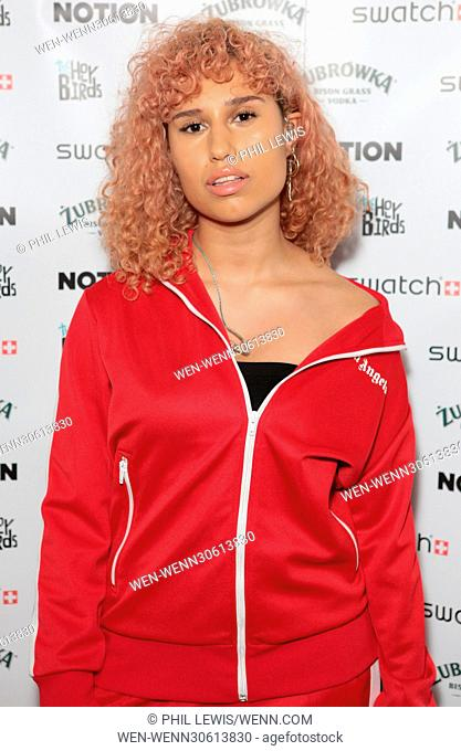 'Notion Magazine' notionmagazine.com re-launch party Featuring: RAYE Where: London, United Kingdom When: 13 Dec 2016 Credit: Phil Lewis/WENN.com