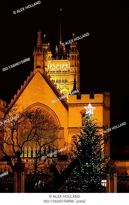 Westminster at Christmas