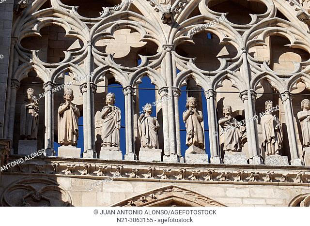 Santa Iglesia Catedral Basílica Metropolitana de Santa María. Detail. Burgos, Castilla y León, Spain