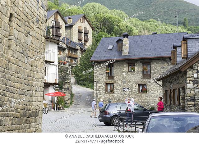 San Climent de Taull village in Boi valley Lleida Catalunya Spain