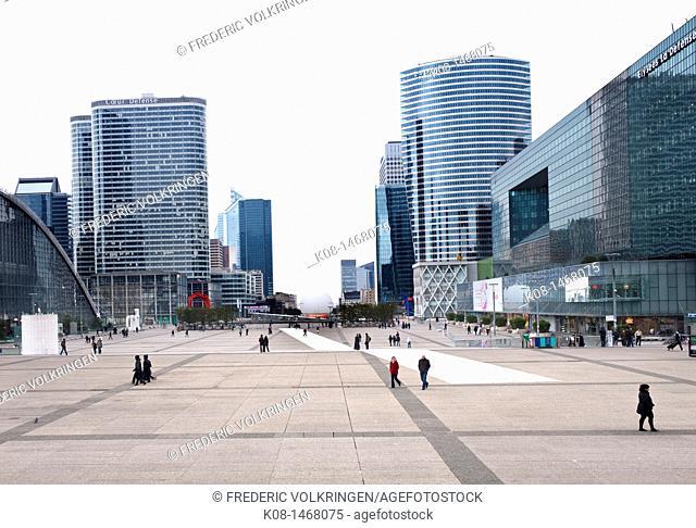 La Defense business district, Paris, France