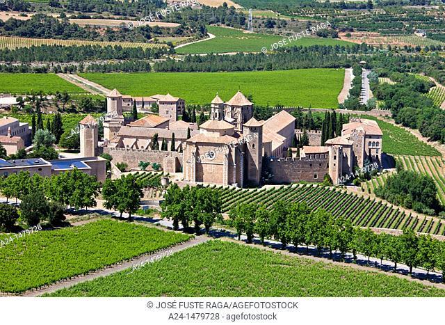 Spain, spring 2011, Tarragona Province, Poblet Monastery W H