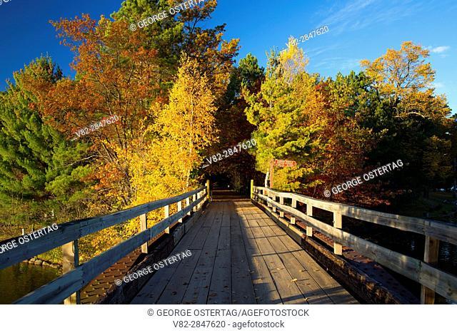 Kawaga Trestle, Bearskin State Trail, Minocqua, Wisconsin