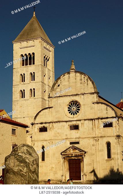St. Mary church in Zadar, Dalmatia, Croatia, Europe
