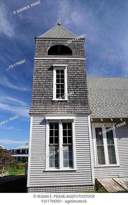 Monhegan Church, Monhegan Island, Maine