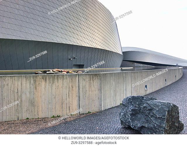 National Aquarium Denmark (Den Bla Planet), Kastrup, Copenhagen, Denmark, Scandinavia. Opened in 2013 and is the largest aquarium in northern Europe