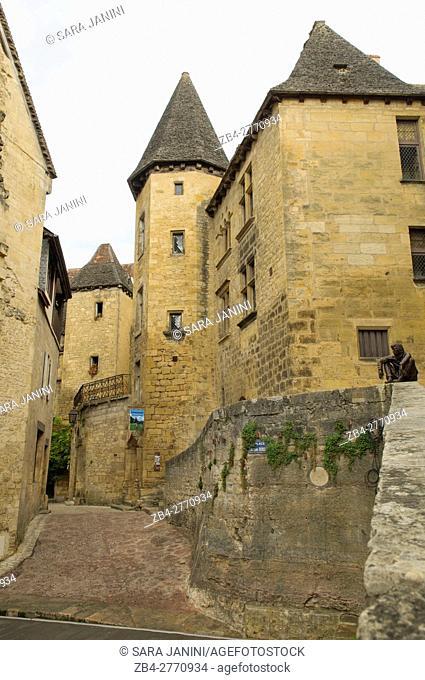 Place de la Liberté, Sarlat, Dordogne, Aquitaine, France