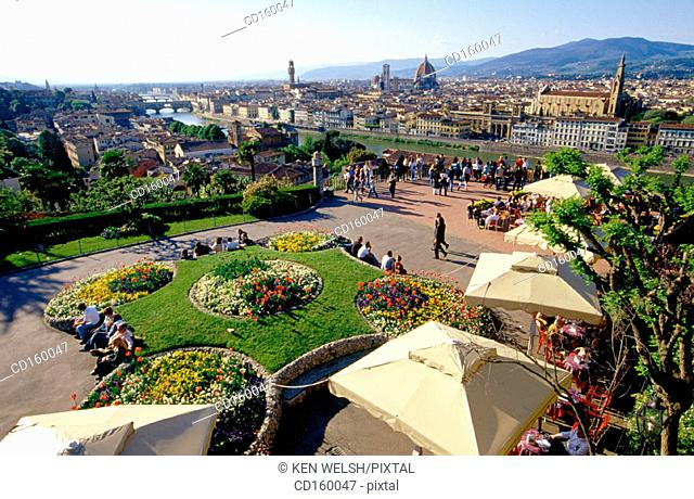 City view. Florence. Italy