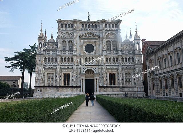 Church,Carthusian monastery, Lombardi Italy