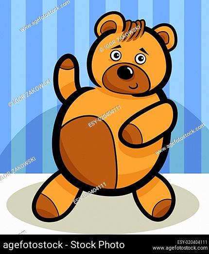Cartoon Cute Teddy Bear