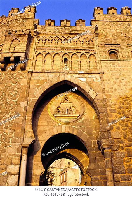 The Puerta del Sol was once the principal gateway into the ancient walled city of Toledo  It leads directly to the Puerta de Bisagra and the Cristo de la Luz...