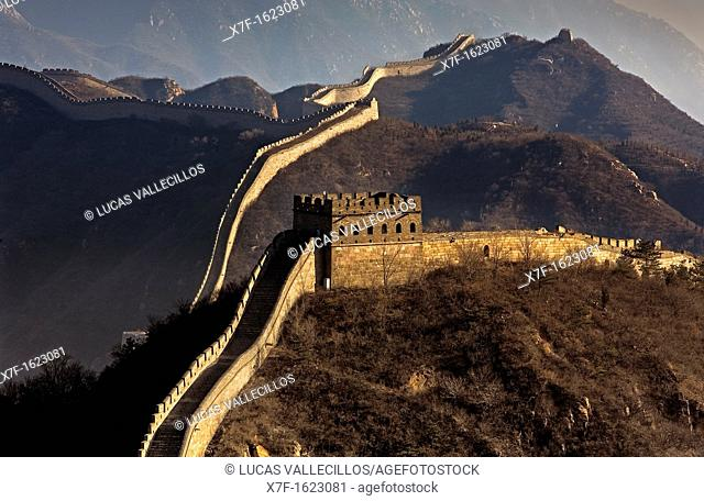 Great Wall, Badaling section,Beijing, China