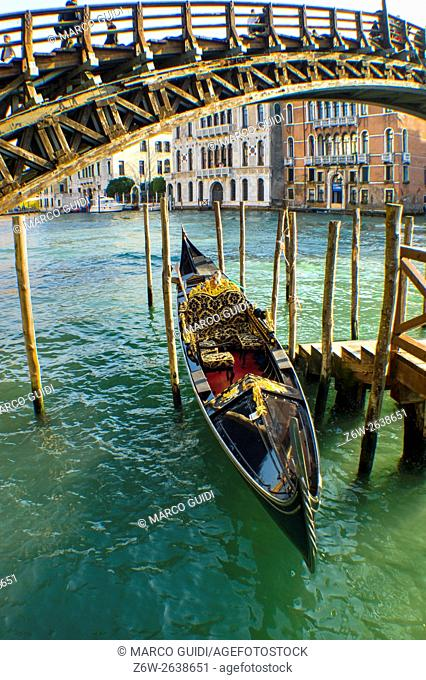 Navigation within the city of Venice Italy, the only way to get around