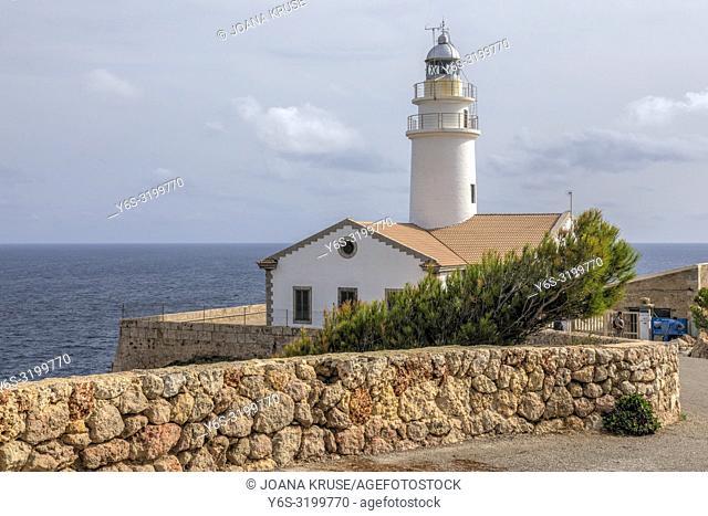 Lighthouse Capdepera, Cala Ratjada, Mallorca, Balearic Islands, Spain, Europe