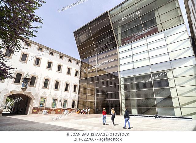 Arts centre,CCCB,Centre cultura contemporania,El Raval quarter