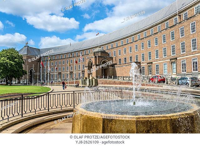 Bristol City Hall, Somerset, England, UK