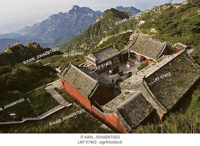 Confucius Temple, Tai Shan, Shandong province, Taishan, Mount Tai, World Heritage, UNESCO, China, Asia