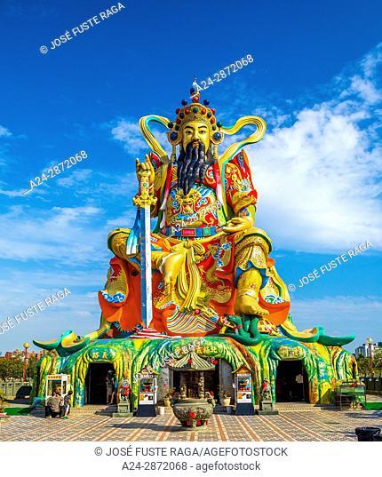 Taiwan, Kaohsiung City, Tsoying District, Lotus Pond, Xuantian Shang-di guardian of the north