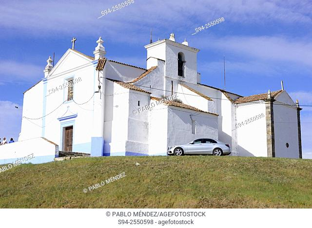 Church of Nossa Senhora do Castelo in Arraiolos, Alentejo, Portugal
