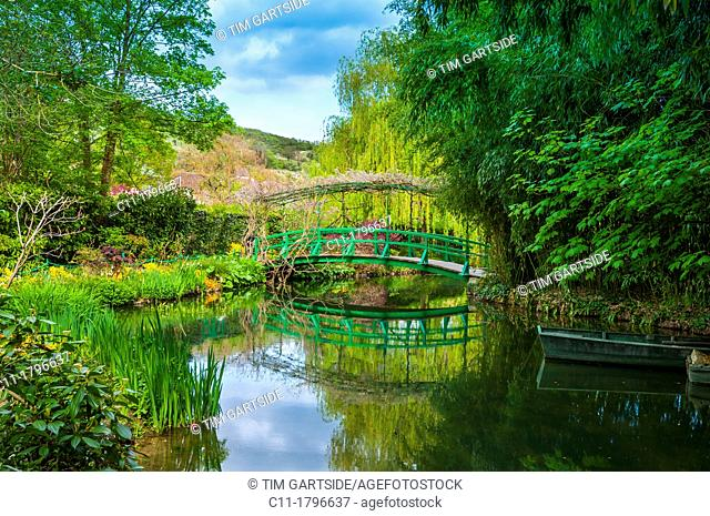 Monet's garden, Giverny, Normandy, France, Eure, Europe