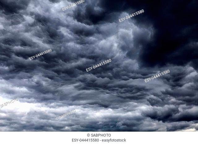 Blurred Natural Dramatic Clouds area Background