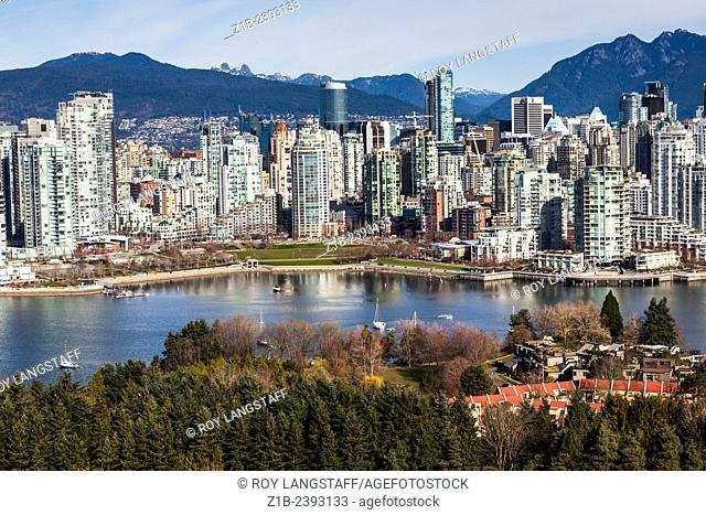View of the Yaletown district of Vancouver, Canada