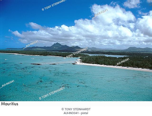 Mauritius - Ile aux Cerfs - landscape - coral reef