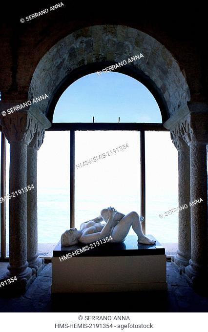 Spain, Catalonia, Barcelona province, Sitges, Maricel Museum