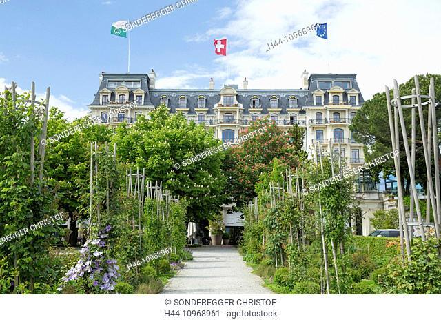 Hotel, beau Rivage Palace, Lausanne, canton, VD, Vaud, Western Switerland, Romandie, catering, restaurant, hotel, Switzerland, Europe