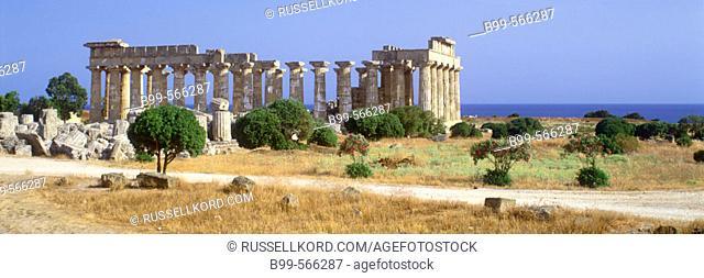 Greek Ruins, Selinunte, Sicily, Italy