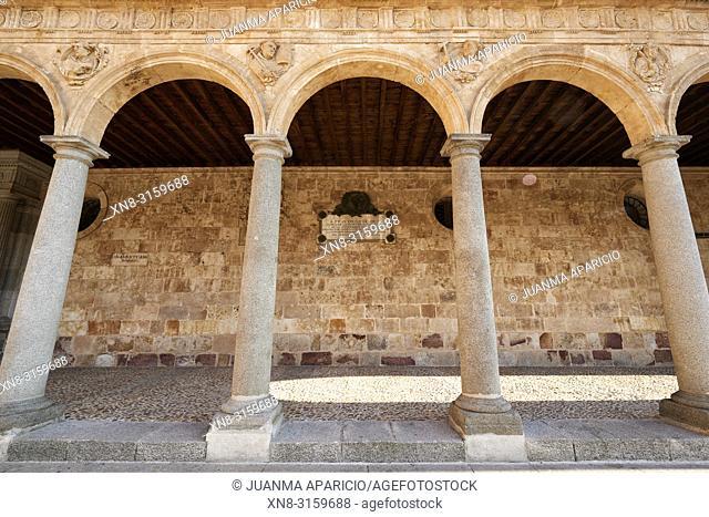 Convento de San Esteban in Salamanca, Spain. A Dominican monastery, the Convento de San Esteban (Saint Stephen) was built in 1524 on the initiative of Cardinal...