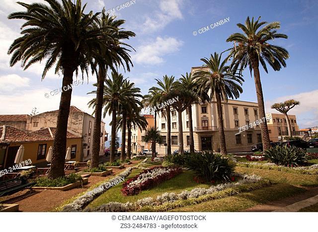 Parque de la Concepcion Cathedral in La Orotava, Tenerife Island, Canary Islands, Spain, Europe