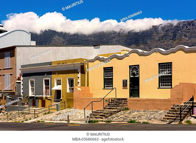 South Africa, Cape Town, Bokaap, historical quarter