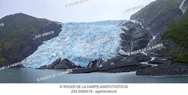 Coxe Glacier. Barry Arm. Prince William Sound. Near Whittier. Alaska. United States of America