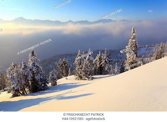 Alps, Alpine panorama, view, mountain, mountains, mountain, mountain panorama, Bern, Bernese Alps, Bernese Oberland, ice, cliff, mountains, back light, summit