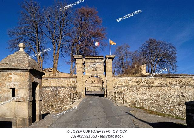 fortification of Mont-Louis, Languedoc-roussillon, France
