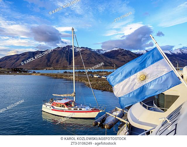 Puerto Punta Bandera, Santa Cruz Province, Patagonia, Argentina
