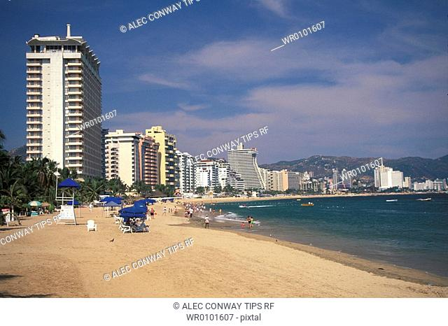 Mexico, Acapulco, the beach