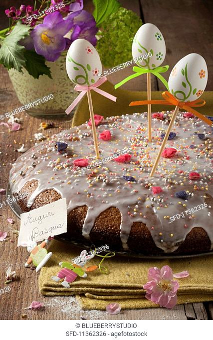 Torta pasquale (Easter cake, Italy)