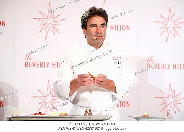 73rd Annual Golden Globes Menu Preview Featuring: chef Thomas Henzi Where: Beverly Hills, California, United States When: 04 Jan 2016 Credit: FayesVision/WENN