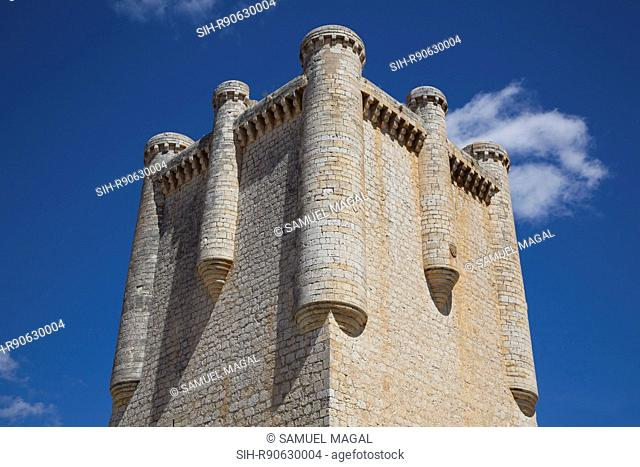 The Torrelobaton Castle was built was constructed on the ruins of an older castle by Alfonso Enriquez in Ca. 1420-1426. The castle was their residence