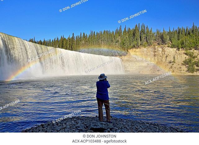 Lady Evelyn Falls, Kakosa Territorial Park, Northwest Territories, Canada