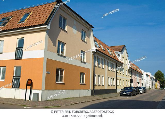 Proviantgatan central Kalmar city Småland southern Sweden Europe