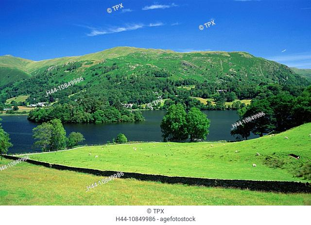 UK, United Kingdom, Great Britain, Europe, England, Cumbria, Lake District, Great Langdale, Langdale Pikes, Grasmere