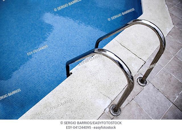 Pool ladder, fun detail in summer